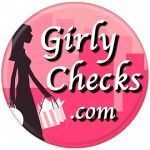 Girly Checks Promotional Button