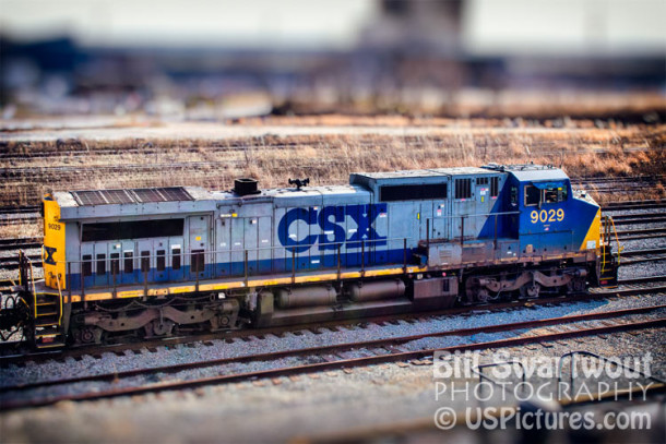 CSX 9020 Locomotive at the Locust Point Yard