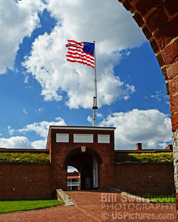 Fort McHenry Main Gate