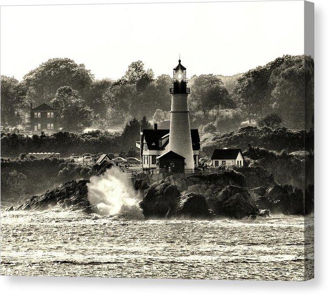 Portland Head Lighthouse on Canvas